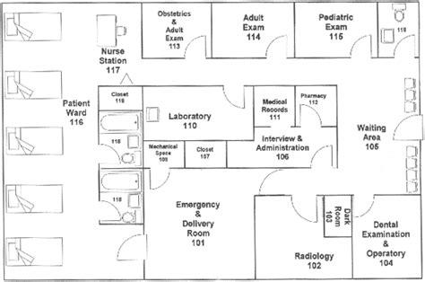 Ambulatory Surgery Center Floor Plans by International Business International Business Plans Examples