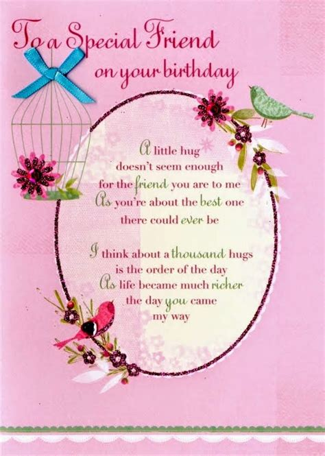 Happy Birthday Wishes To A Special Friend Happy Birthday To A Special Friend Kootation Blogspot Com