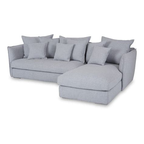 gray sofa with chaise lounge grey chaise sofa smileydot us