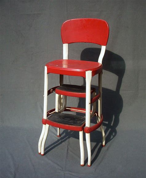 vintage cosco metal step stool vintage cosco metal step stool chair