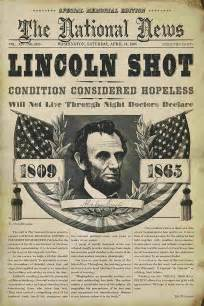 Abraham lincoln assassination anniversary how the day was covered