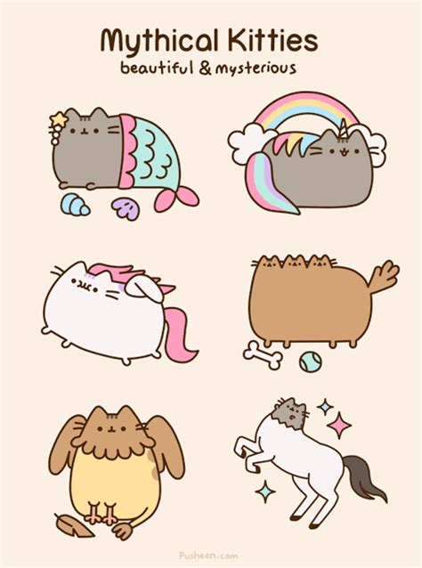 Pusheen Cat Meme - meow i am pusheen the cat this is my blog more