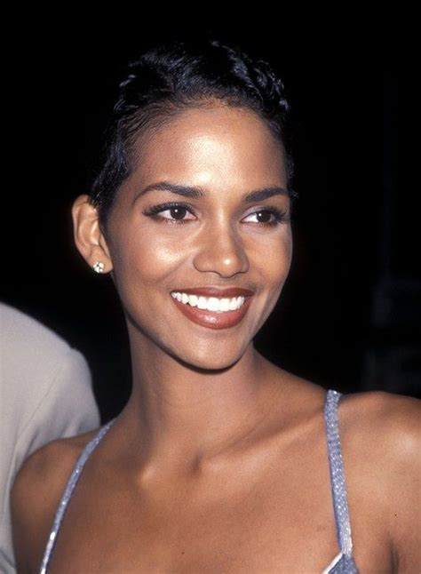 what were the black hairstyles images in 1995 halle berry s beauty evolution halle evolution and brown