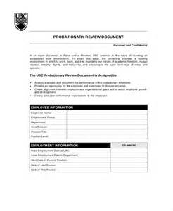 Review Template by Employee Review Templates 10 Free Pdf Documents