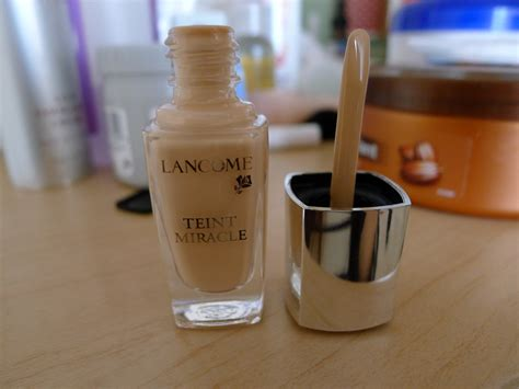 Lancome Teint Miracle Foundation lancome teint miracle foundation review in my mind
