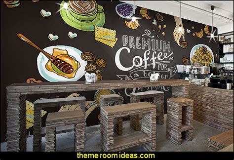 restaurant wall murals decorating theme bedrooms maries manor cafe kitchen decorating ideas cafe kitchen decor