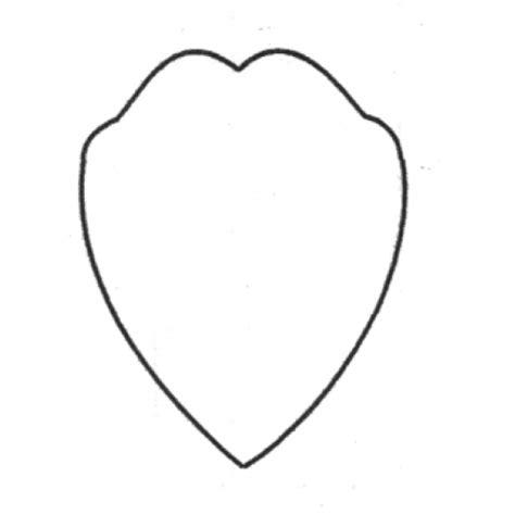 petal shape template tulip petal 671