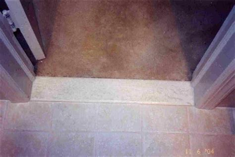 Carpet   Ceramic Tile Threshold   Ceramic Tile Advice