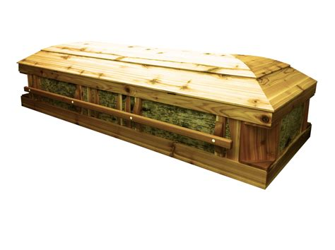 pine box casket pine coffin of edgeglued panels with