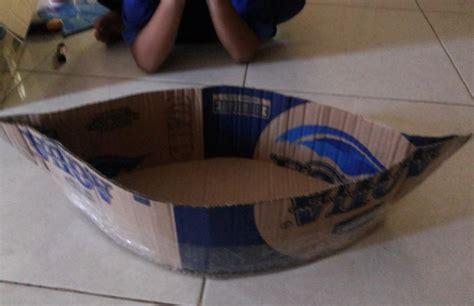 membuat jam dari kardus bekas kreasi miniatur kapal dari kardus bekas dunia belajar anak