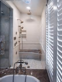 Shower In Bath Dreamy Tubs And Showers Bathroom Ideas Amp Designs Hgtv