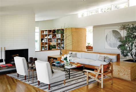 living room silverlake le fashion a fashionable home de ruiter mid century in silver lake