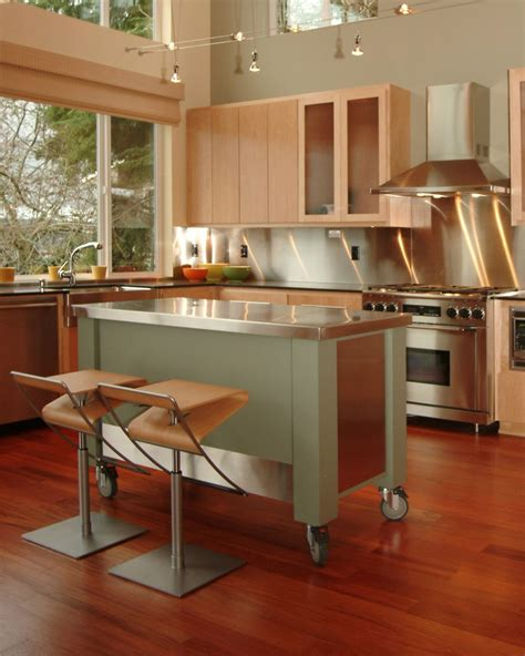 kitchen islands mobile modern eat in kitchen