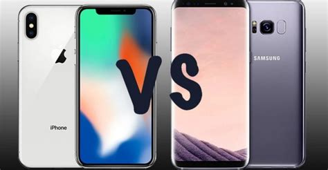 iphone x vs samsung galaxy s9 which one s for you