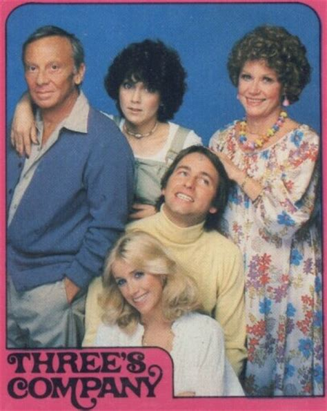 three s company topps three s company stickers