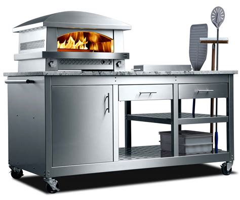 kitchen appliance cart outdoor pizza oven landscape outdoor pizza ovens outdoor