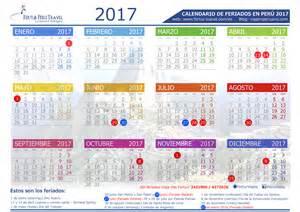Calendario 2018 Con Feriados Calendario 2017 Per 250 Con Feriados Descargar En Pdf Y Jpg