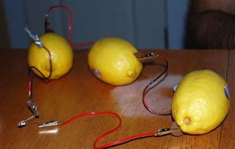 fruit battery our creative day lemon battery