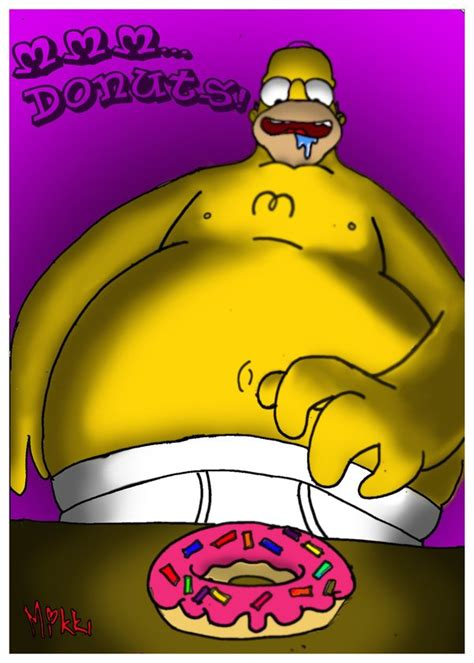 Mmm Doughnuts by Simpsons Mmm Donuts By Magicmikki On Deviantart