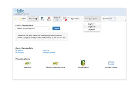 bootstrap layout splitter intersoft webui studio webdesktop