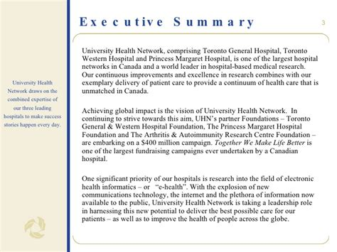 Mba Synopsis In Operations Management by Report Executive Summary Template Chair In Health