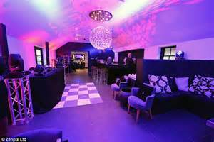 Wedding guests will be able to enjoy the disco ball nightclub situated