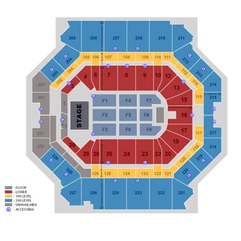 Philips Arena Floor Plan by Barclays Center Seating Chart 3d Views Seat Row Numbers