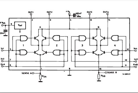 most common integrated circuits common integrated circuits l298n circuit dual bridge driver