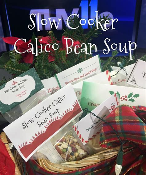 gifts from the kitchen cooker calico bean soup
