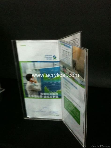Acrylic Menu acrylic menu holder table tent sign holder china