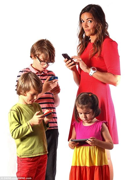 Hypocritical parents are turning children into phone