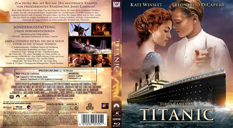 film titanic dvd titanic blu ray dvd covers 1997 r2 german