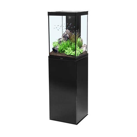 Meuble Aquarium Aquatlantis by Ensemble Aquarium Meuble Colonne Noir 96 Litres