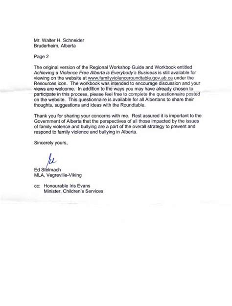 Business Letter Format Page 2 Business Letter Format Second Page Sle Business Letter