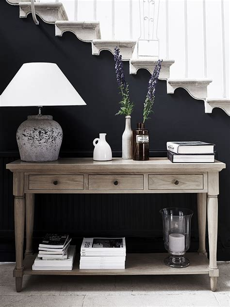 sofa table decorating 17 best ideas about table decor on entry