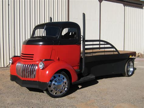 Custom Trucker Flat By Devapishop 1946 gmc custom flatbed truck 181300