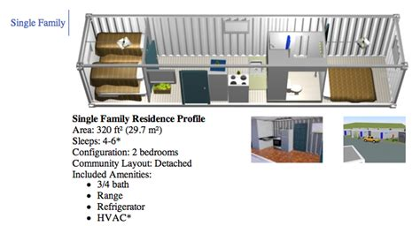 container size floorplan though living in a metal house