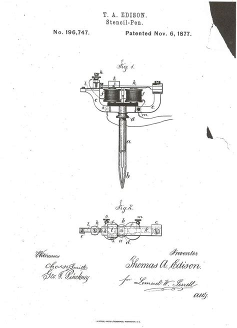 tattoo machine invention top 146 ideas about tattoo machine history on pinterest