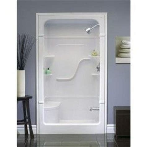 Home Depot Showers With Seat by Shower Kits For Small Bathrooms Shower Stall With Seat
