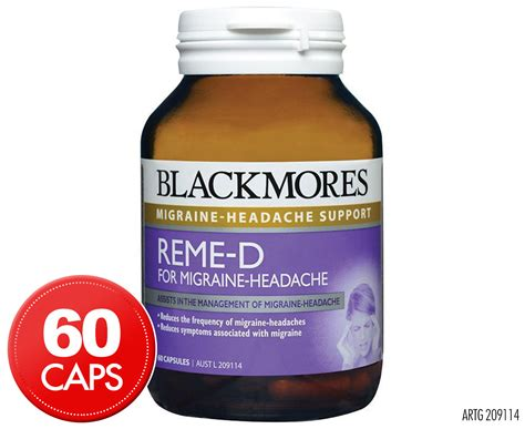 Blackmores Brain Active 30 Caps blackmores reme d for migraine headache 60 caps groceryrun au groceries