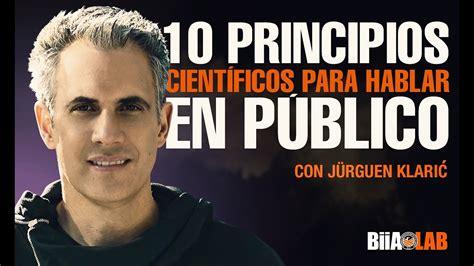 jurgen klaric barcelona neuro oratoria 10 t 233 cnicas cient 237 ficas para hablar en