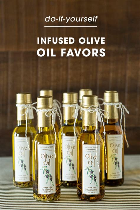 Wedding Favors Olive by Learn How Easy It Is To Infuse Your Own Olive As Gifts