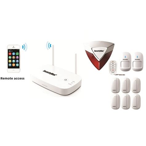 securityman mobile app based wireless home security alarm