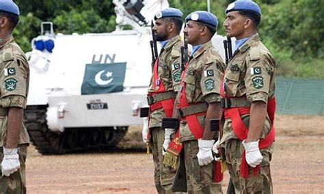 un lauds pakistani peacekeepers contribution to world