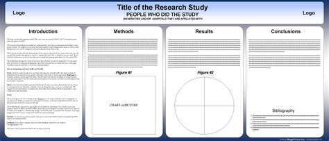 research template free powerpoint scientific research poster templates for