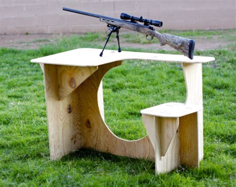how to make a shooting bench portable takedown shooting bench bodellcustoms