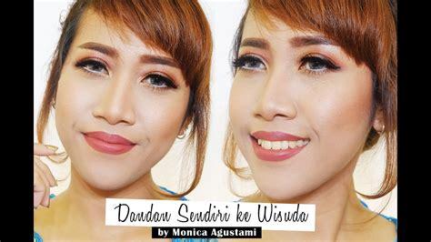Youtube Tutorial Dandan | tutorial dandan sendiri ke wisuda long lasting makeup