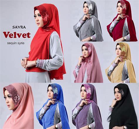 Kerudung Jilbab Instan Syiria Jeblok 1 jual jilbab velvet sequin syria baru jilbab