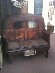 1941 studebaker truck bed bench build recyled