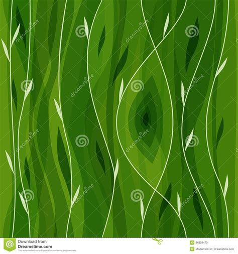 nature pattern free vector leaf seamless pattern abstract nature stock vector